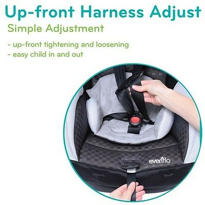 1 Of 8FREE Shipping Evenflo SureRide DLX 65 Convertible Carseat