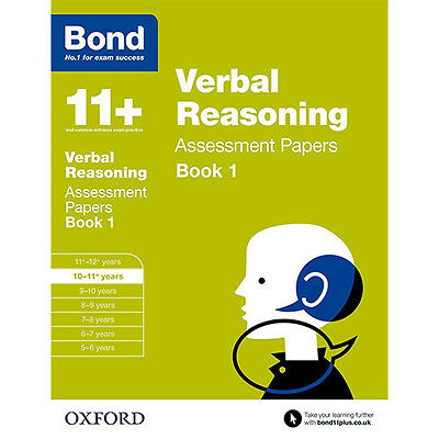 Bond 11+ Plus Maths,English,Verbal,Non verbal 4 Books Collection Set NEW BRAND 5