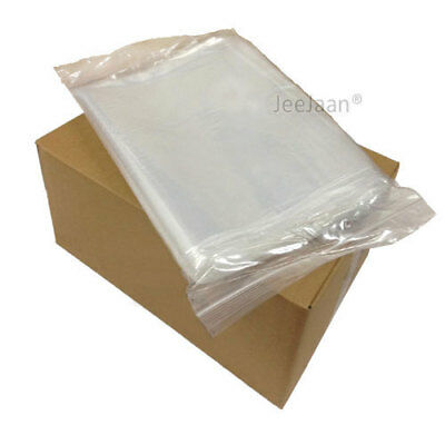 Grip Seal Bags Self Resealable Grip Poly Plastic Clear Zip Lock MIX [All Sizes] 3