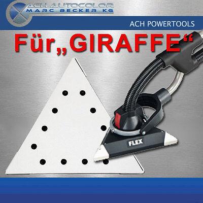 10x Schleifscheiben Schleifpapier für FLEX Giraffe Körnung P120 290x290x290mm