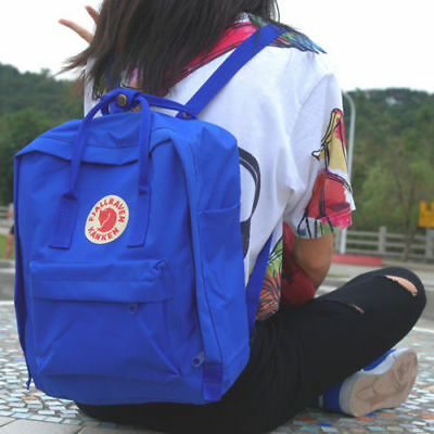 7L/16L/20L unisex Fjallraven Kanken Backpack Travel spalla scuola borse Marca 7