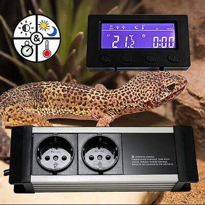 Thermostat Dimmer Zeitschaltuhr Alarm Aquarium/terrarium *display-Extern* Txc 3