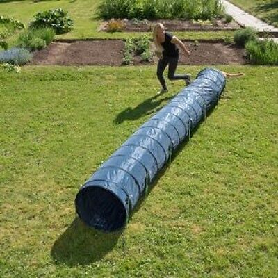 Dog Agility Tunnel Activity 60 cm x 5m Blue Fit & Healthy Strong and Sturdy 2