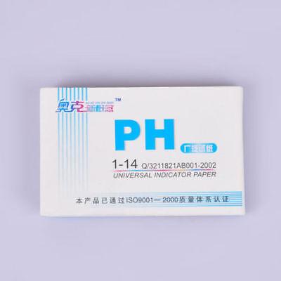 160 pH-Indikator-Teststreifen 1-14 Lackmuspapier Wassertest Skala Tester 2