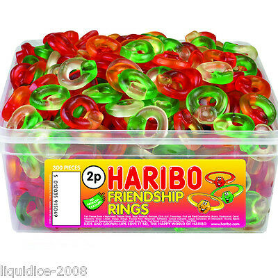 1 X Full Tub Haribo Sweets Candy Children's School Bags Treat Sweet Gift Party 12