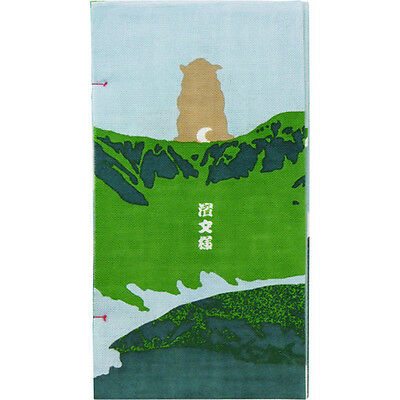 Japanese traditional towel TENUGUI  DOG  SHIBA MOUNTAIN NEW COTTON MADE IN JAPAN 2