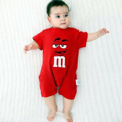 Newborn Infant Baby Boy Girl Kids Cotton Romper Jumpsuit Bodysuit Clothes Outfit 3