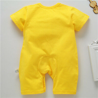 Newborn Infant Baby Boy Girl Kids Cotton Romper Jumpsuit Bodysuit Clothes Outfit 6