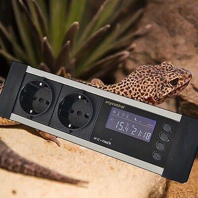 Digitaler Thermostat Thermometer Heiz- & Kühlregeleinrichtung Gewächshaus Tx4 3