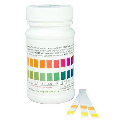 Drinking Water pH Testing Strip Strips Stix Test Kit Wide Range pH 3