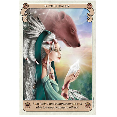 Conscious Spirit Oracle Cards  Deck Esoteric Telling Kim Dreyer New 2