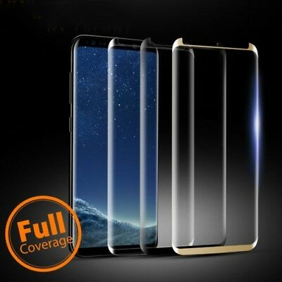 For Samsung Galaxy S9 S8Plus Note8 4D Full Cover Tempered Glass Screen Protector 2