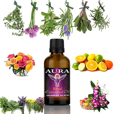 Essential Oils Pure Aromatherapy Therapeutic Grade Free Shipping 100ml Natural 2