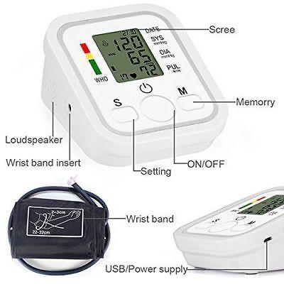 Misuratore Di Pressione Digitale Da Braccio Sanguigna Automatico Monitor 3