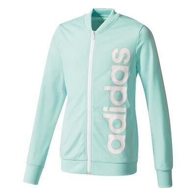 ADIDAS Linear Polyester Kinder Sport- Training- Jogging Anzug Mädchen CF1247 /K1 2