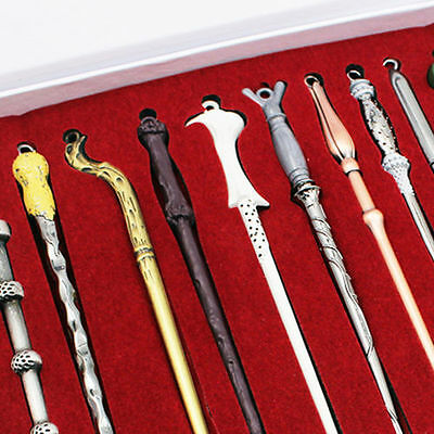 Birthday Gift 11PCS Harry Potter Hermione Dumbledore Snape Magic Wands With Box 5