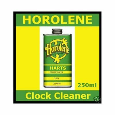 250ml Can Horolene Ammoniated Concentrated Clock Cleaning Solution fluid 2