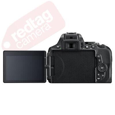 Nikon D5600 Digital SLR Camera Black + 3 Lens: 18-55mm VR Lens + 32GB Bundle 2