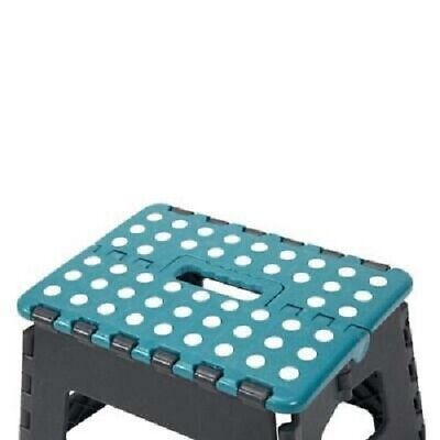 Plastic Multi Purpose Folding Step Stool Foldable Seat Home Kitchen Easy Storage 3