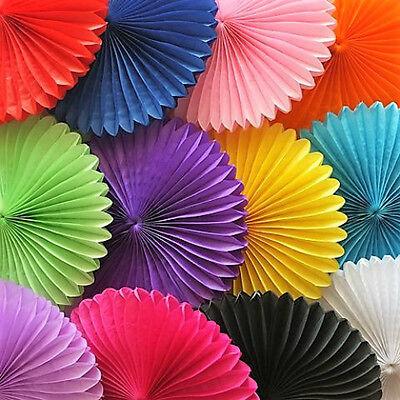 Tissue Paper Fans Pom Poms Wedding Party Baby Lantern Home Room Decor AU Stock 4