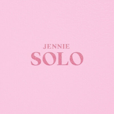 BLACKPINK JENNIE [SOLO] PHOTOBOOK CD+POSTER+Photo Book+Post Card+Card SEALED 2
