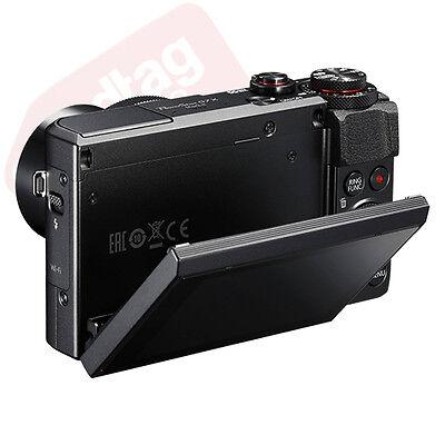 Canon PowerShot G7x Mark II 20.1MP Digital Camera 4.2x Optical Zoom Full-HD 4
