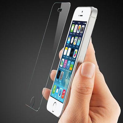 Vitre protection verre trempé film écran pour iPhone 8 7 6S 6 Plus 5 X XR XS MAX 2