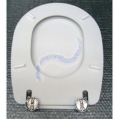 Asse Water Conca.3s Sedile Asse Water Copri Wc Bianco Modello Liuto Ideal