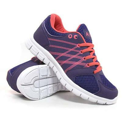 Ladies Running Trainers Womens Air Shock Absorbing Fitness Gym Sports Shoes Size 4
