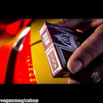 Paper Run Heat Deck Playing Cards Poker Size Limited Edition Custom Case Gaff Tricks Collectibles Thrivingkidsconnection Com
