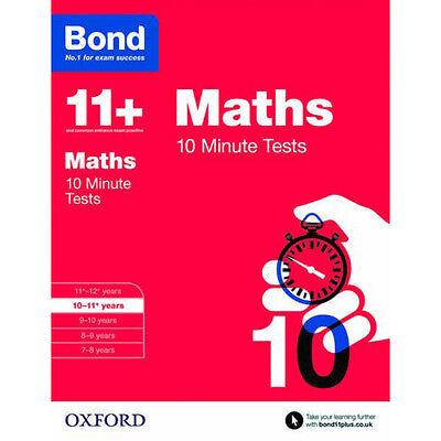 Bond 11+ Plus Maths,English,Verbal,Non verbal 4 Books Collection Set NEW BRAND 2