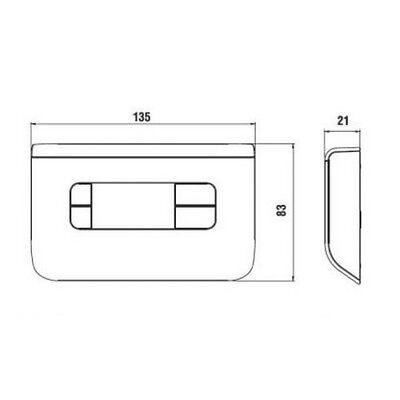 3S Nuovo Termostato Ambiente Digitale Ch115 Fantini Cosmi Bianco - Temperatura 3