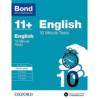 Bond 11+ Plus Maths,English,Verbal,Non verbal 4 Books Collection Set NEW BRAND 3