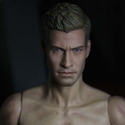 1//6 Scale Male Head Sculpt Jake Gyllenhaal Onesixth HW//Neck