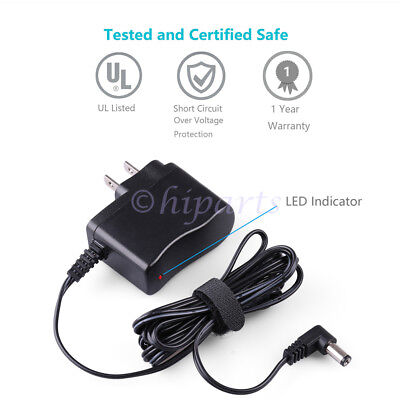 9V AC/DC WALL Charger Power Supply Adapter for Casio AD-5 AD5 Piano Keyboard