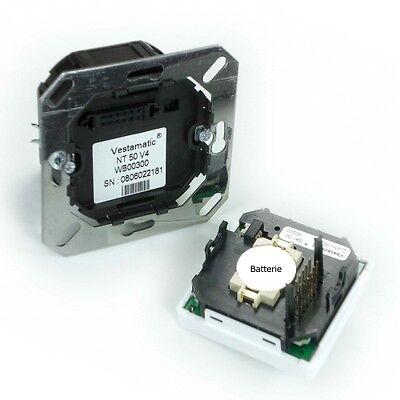 NEU Zeitschaltuhr Vestamatic Quattro S50 + Sonnensensor 1m  RolladenSteuerung 6
