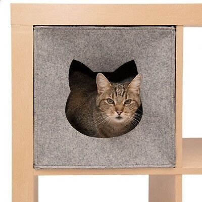 Cat Den For Shelves Privacy Bed Napper Foldable Cube Perfect Hideaway Washable 3