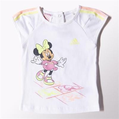 Adidas Disney Mini Infant Girls Set T-Shirt and Skirt Full Set Baby Kids S22057