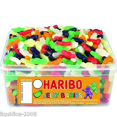 1 X Full Tub Haribo Sweets Candy Children's School Bags Treat Sweet Gift Party 9