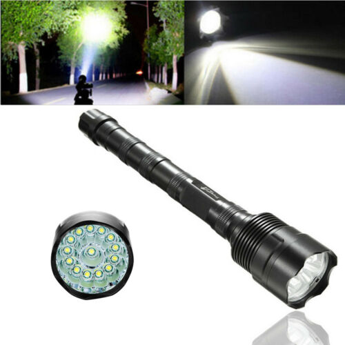 Tactical 900000Lumens T6 LED Bright Police Rechargeable Flashlight Torch Lamp # 4