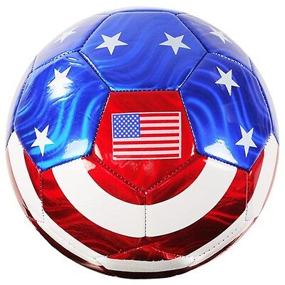 25fc75f47345 ... 2FREE Shipping USA Soccer Ball w  American Flag Official Size No. 5 (WHOLESALE  BULK LOT