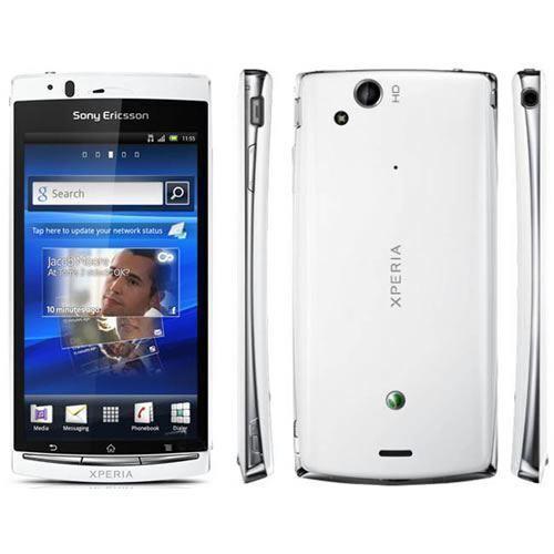 Sony Ericsson Xperia Arc S LT18i Unlocked Black Smartphone Android Mobile Phone 3