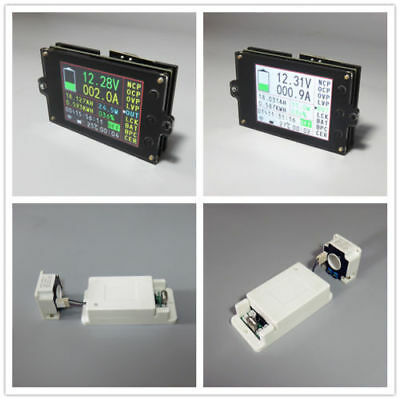 Wireless Battery Monitor Meter DC 120V 300A VOLT AMP AH SOC Remaining Capacity 4