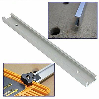 400/600mm T-track T-slot Miter Track Jig Fixture Woodworking Tool F Router Table