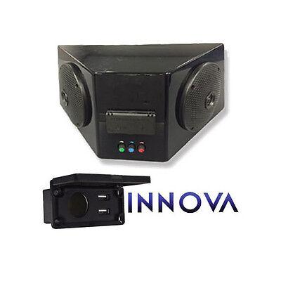 INNOVA 12V GOLF Cart Bluetooth Radio Speaker Box & USB for Club Car on replacement speakers for motorcycle helmet bluetooth, boss waterproof motorcycle speakers bluetooth, pyle motorcycle speakers bluetooth,