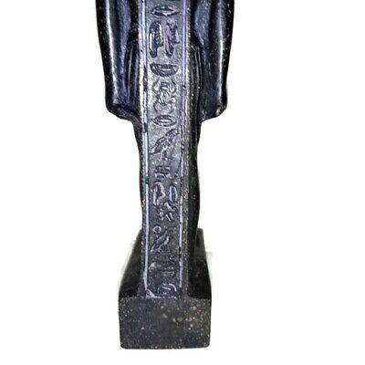 Rare Ancient Egyptian Pharaoh King Ramsis II Statue Great Stone Black 1279 BC 9