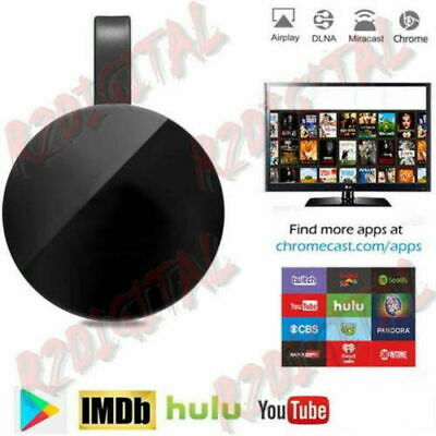 Display Dongle Hdmi Wireless Chromecast Google Mirascreen Media Video Stream Hd 5