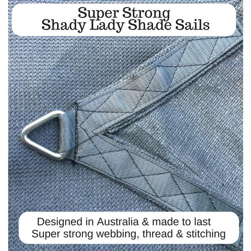 Garden & Patio Shade Sails Shade Sail 8mm Installation Accessory Kit 9pcs Triangle/Right Angle shade sails