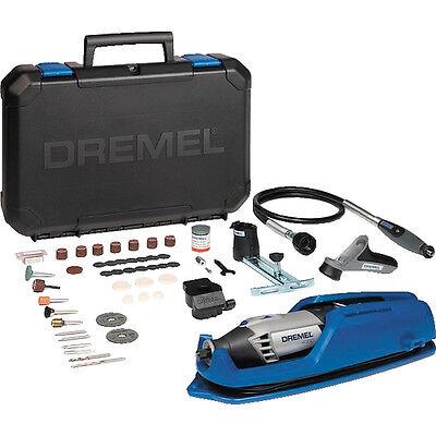Dremel NEW 4000-65 ROTARY MULTI TOOL + Dremel 335 Router Att + Dremel 660 Cutter 2