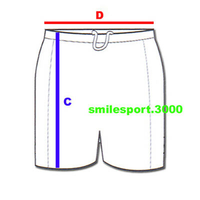 ROYAL SPORT PANTALONCINO ALCOR CALCIO CALCETTO SHORT BIANCO